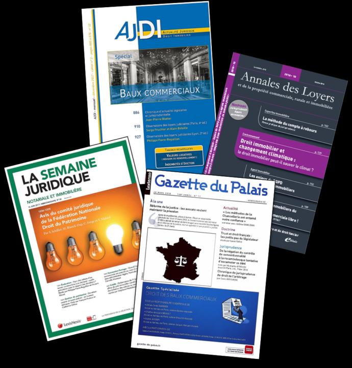 Le cabinet d'experts en estimations immobilière et foncière IFC EXPERTISE FAVRE-REGUILLON est leader en région Auvergne Rhône-Alpes, et reconnu pour la qualité des ses rapports d'expertise. Il alimente la doctrine avec des publications professionnelles régulières parues dans les revues les plus renommées.
