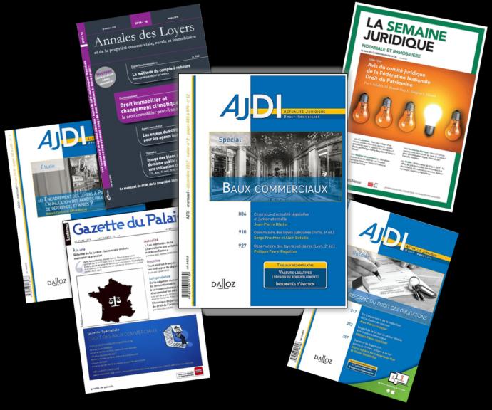 LES PUBLICATIONS PROFESSIONNELLES DU CABINET D EXPERTS IMMOBILIERS ET FONCIERS IFC EXPERTISE FAVRE REGUILLON 2018