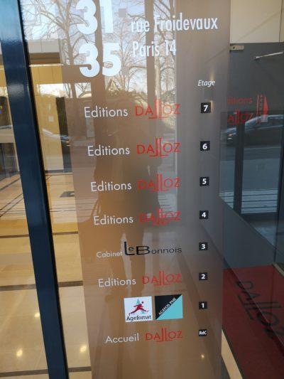 Le Cabinet IFC EXPERTISE FAVRE-REGUILLON invité à parcourir plus de 60 années d'actualité juridique dédiée à l'actualité immobilière, dans les murs des Editions DALLOZ