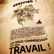 """Le 1er Tote bag """"baux commerciaux"""""""