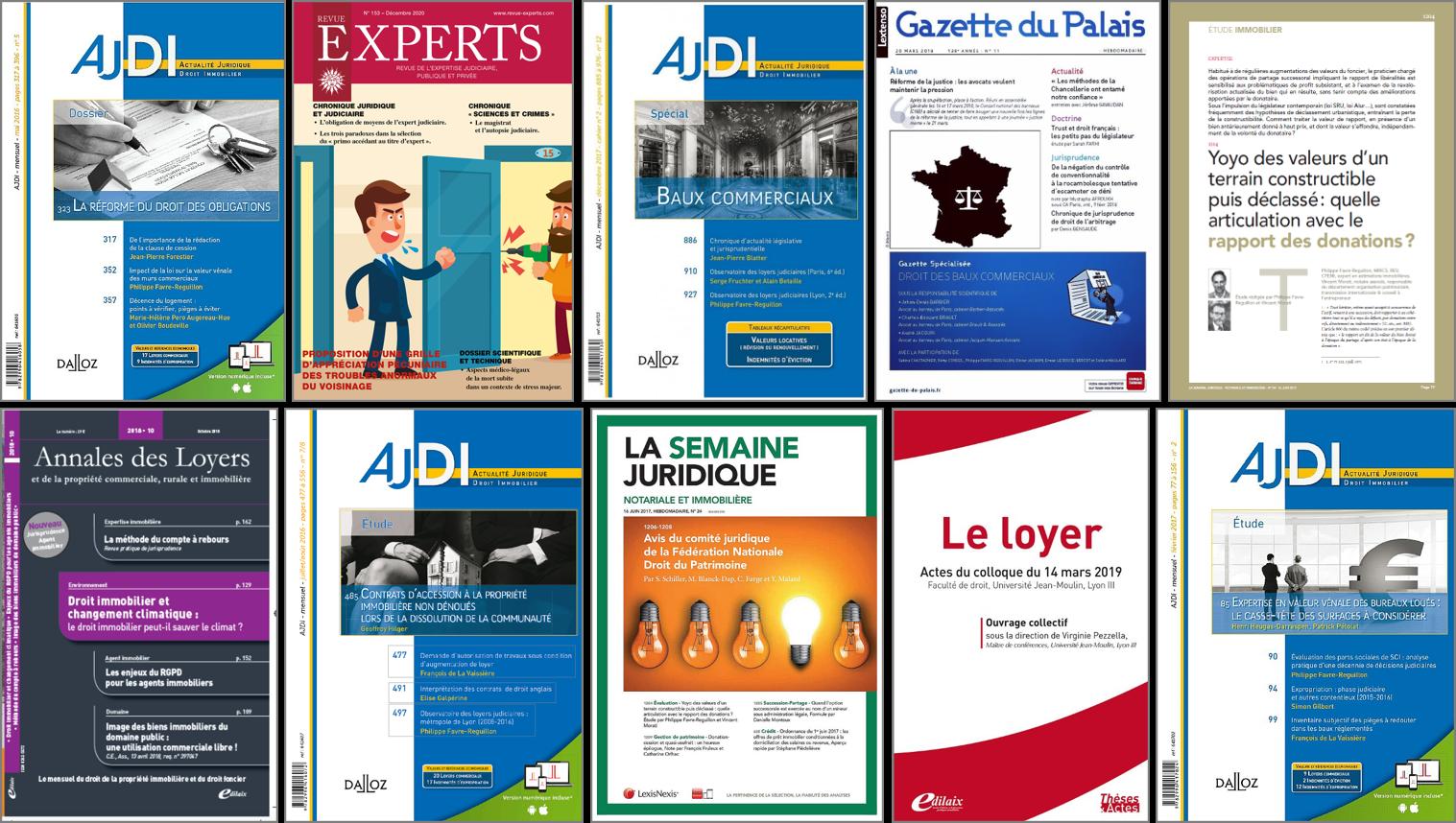LES-PUBLICATIONS-DU-CABINET-IFC-EXPERTISE-FAVRE-REGUILLON-EXPERT-LYON-ANNECY-PARIS