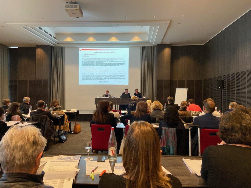 Intervention de Philippe FAVRE-REGUILLON, expert fondateur du cabinet IFC EXPERTISE lors de la journée de formation de l'école des avocats de Lyon sur le thème de l'actualité des baux commerciaux