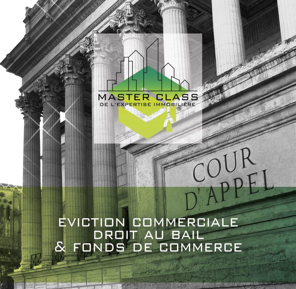 Deuxième master class de l'expertise immobilière, Paris les 18 et 19 juin 2020