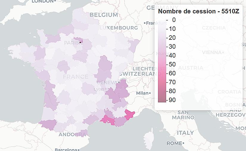 cartographie des cessions de fonds de commerce france entiere