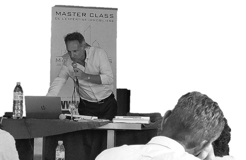 Intervention de Philippe FAVRE-REGUILLON expert en évaluations immobilière foncière et commerciale lors de la Master class de l'expertise immobilière